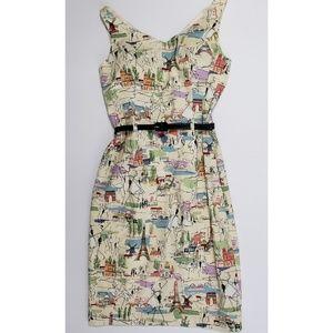 David Meister Tres Jolie Dress NWT Size 2